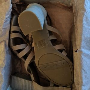 Franco Sarto Shoes - Franco Sarto Leather Block Heel Sandals - Madrid